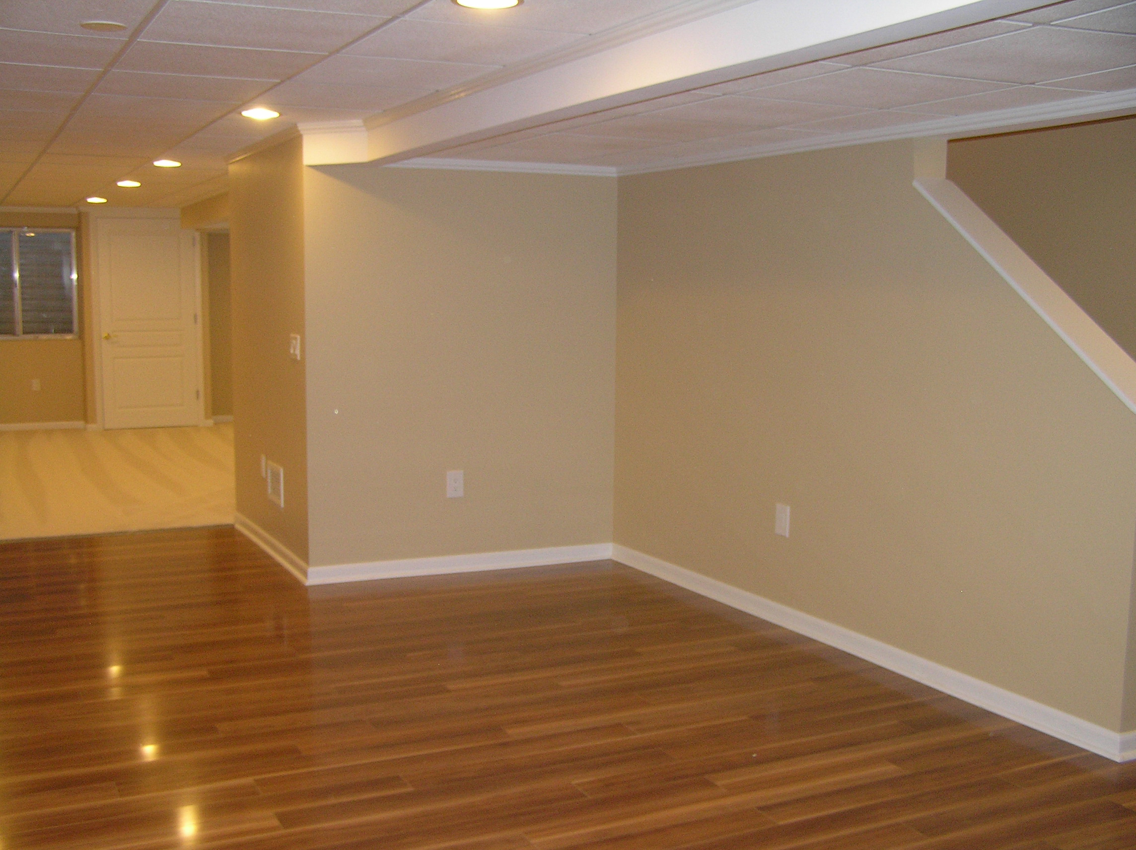 Paintable Wall Panels : Basement finishing in naperville aurora joliet illinois