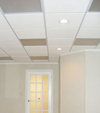 Basement Ceiling Tiles by Total Basement Finishing