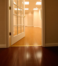 Basement Wood Flooring by Total Basement Finishing