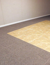 ThermalDry® Basement Flooring - Basement floor tiles in Aurora, Glendale Heights, Elgin, Joliet, and Naperville, IL